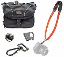 BlackRapid Shot Strap (Orange) + Tamrac 4397 Micro 4/3 Mirrorless Camera Bag Kit