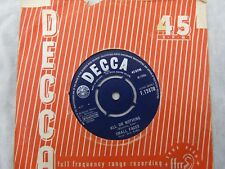 SMALL FACES ALL OR NOTHING / UNDERSTANDING decca 12470 plays fantastic