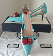 GUCCI CHERRY low heeled shoes 40 NEW in box