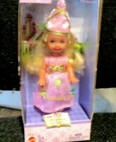 "Mattel 2003 Kelly as Rupunzel Fairy Tale 5"" Barbie Fantasy Tales Doll New in Box"