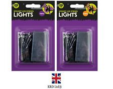 LED String Fairy Lights Battery Halloween Decor Spooky Party Lamp Home GM1320 UK