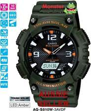 CASIO WATCH TOUGH SOLAR AQ-S810W-3AV AQS810 AQS810W 12-MONTH WARANTY