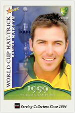 2007-08 Select Cricket Cards World Cup Hat Trick WSC9 Damien Martyn
