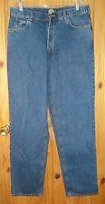 Cabela's Almost Top Grade Indigo Wash 5 Pocket Jeans, 37 x 36.  J 288