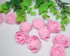 76pcs MIXED ROSE MULBERRY PAPER FLOWER ARTIFICIAL CRAFT SCRAPBOOK WEDDING 1.5