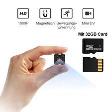 1080P Mini Kamera HD Nachtsicht Camcorder Bewegungserkennung DV mit 32 GB Karte