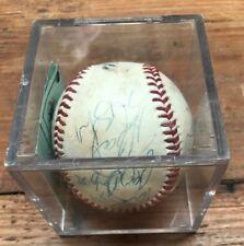 Mizuno Baseball in case - signed