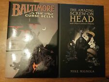 Baltimore Volume 2 and The Amazing Screw-On Head Hardcovers Dark Horse