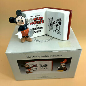 Goebel Steamboat Willie Disney Archive Collection Figurine c1989 as is