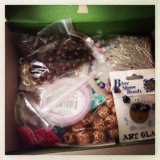 Lucky Dip Mixed Craft bag bulk buy 400gms - beads, findings, embellishments etc.