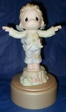 """*EXTREMELY RARE PRECIOUS MOMENTS FIGURINE  """"ON A WING AND A PRAYER""""   *MINT*"""