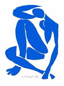 Henri Matisse - Blue Nude IV (signed lithograph, edition of 200)