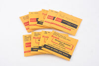 Lot of 9 Kodak Wratten Gelatin Filters 2 Inch V06