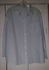 Cherokee 24W Blue Stripe button down