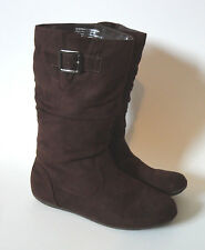 RAMPAGE GIRLS {Size 4} Women's Brown Slouchy Boots VERY NICE!