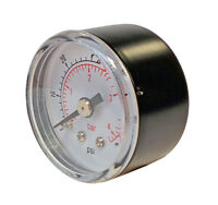 "Ideal 170991 Pressure Gauge 1/8"" MBSP 40mm 0-4 bar (OEM REPLACEMENT)"