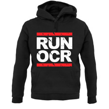 Run OCR Unisex Hoodie - Running - Mud - Muddy - Obstacle Course - Racing