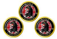 Chalmers Écossais Clan Marqueurs de Balles de Golf