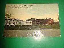 ZU884 Vintage 1920 Jones Bros & Co Vinegar & Preserving Plant Rogers Arkansas