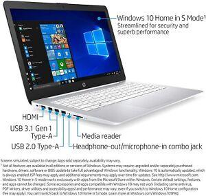 "HP Stream 14"" Laptop AMD A4-9120e 1.5GHz 4GB 32GB White 14-ds0030nr Notebook NOB"