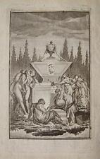 Charles fer Jean de la fontaine rococo érotique acte Muse Nude breast Girl poitrine