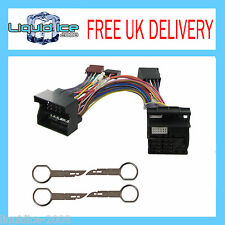 CT10FD05 FORD FUSION 2005-2014 ISO STEREO PARROT BLUETOOTH ADAPTOR LEAD PC5-132