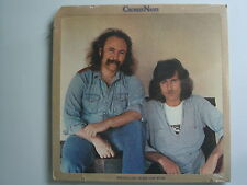 CROSBY AND NASH: Whistling Down The Wire SEALED US LP ORG TEXTURED COVER