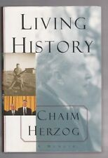 LIVING HISTORY-ISREAL 6TH PRESIDENT CHAIM HERZOG SIGNED 1ST EXCELLENT CONDITION