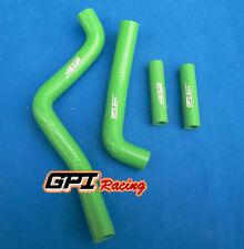 Green silicone radiator coolant hose kit Kawasaki KX125/KX 125 1994-2002 95 96