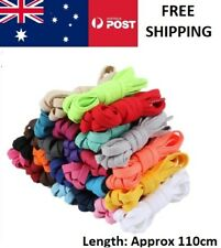 Flat Colorful Shoelaces Coloured Bootlace Sneaker shoe laces BULK Australia