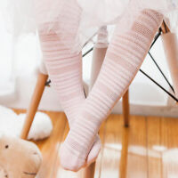 Cute Baby Girls Cotton Tights Pantyhose Toddler Kids Fashion Soft  G
