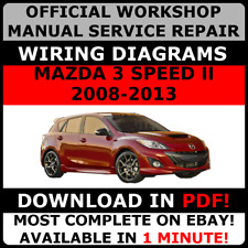 # OFFICIAL WORKSHOP Service Repair MANUAL for MAZDA 3 SPEED II 2008-2013 #