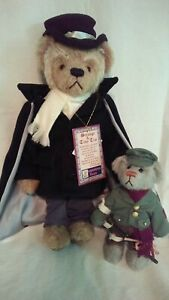 NWT Limited Edition Cooperstown Scrooge & Tiny Tim Teddy Bears w/COA