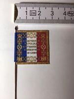 655) 1x 25mm 28mm French Napoleonic Flag 33e Line Infantry Regiment 1812 Pattern