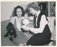 CLAUDETTE COLBERT JENNIFER JONES Vintage 44 CANDID Tea SINCE YOU WENT AWAY Photo