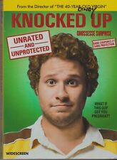 Knocked Up (DVD, 2007, Unrated and Unprotected Widescreen) + Box Sleeve