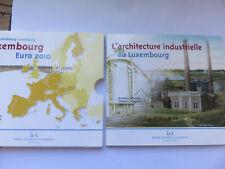 Luxembourg BU 2010 Coffret 9 pièces:la série + 2€ Armoiries du Grand Duc