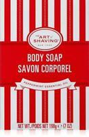 The Art of Shaving Body Soap Savon Corporel Peppermint Essential Oil 7 oz. NEW