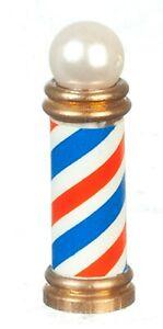 Dollhouse Miniature - Brass Barber's Pole