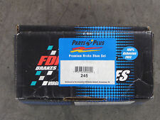 BRAND NEW FDP BRAKE SHOES 245 FITS VEHICLES LISTED ON CHART