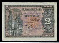 Billete de España 2 pesetas 1938 Burgos D5795102