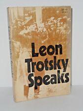 Leon Trotsky Speaks by Leon Trotsky 1972 Pathfinder Press Paperback 1st edition