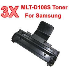 3x MLT-D108S MLTD108S Toner Cartridge for Samsung LaserJet ML-1640 ML-2240