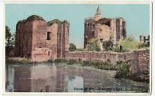 Netherlands; Ruins Of Brederode Castle, Holland PPC 1912 PMK By Shureys