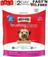 Milk-Bone Brushing Chews Daily Dental Dog Treats | dental chews for small dogs
