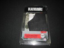 BlackHawk! Nylon Inside-The-Pants, Left Hand, Black Gun Holster, size 07~ 6910
