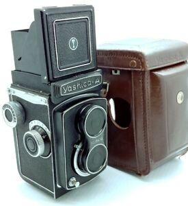 Vintage Yashica A Camera w/ F3.5 80mm Lens w/original case