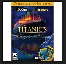National Geographic Adventure: Titanic's Keys to the Past (PC, 2014) New Game