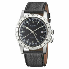 Glycine 3956.19.LB9U Airman No. 1 GMT Automatic 40mm Black Dial - GL0162