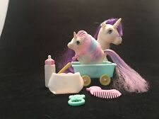 My Little Pony Glory mom and baby G1 Vintage